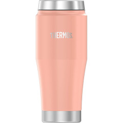 Thermos Vacuum Insulated Stainless Steel Travel Tumbler - 16oz - Matte Blush [H1018BH4]
