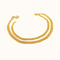 Magnificent Gold Anklets2034