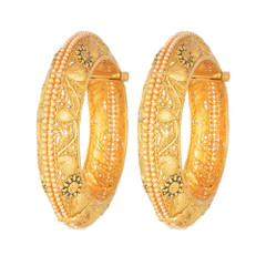 Magnificent Gold and Pearl Bangles2040