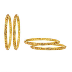 Magnificent Gold and Stone Bangles2042