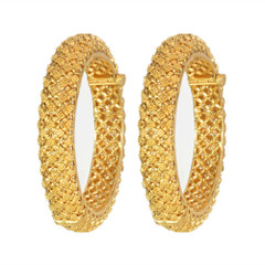 Magnificent Gold Bangles2046