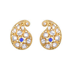 Magnificent Gold and Stone Earrings2050