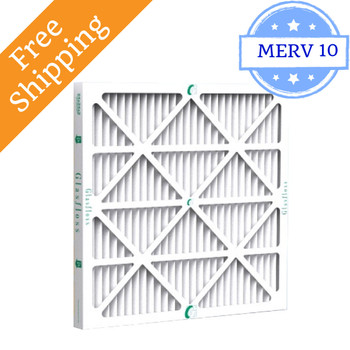 20x25x2 Air Filter ZL Series MERV 10 by Glasfloss