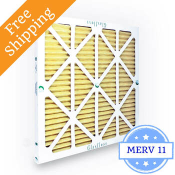14x14x1 air filter glasfloss zl series merv 10 - box of 12