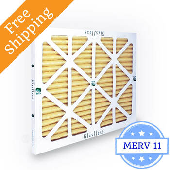 14x24x1 Air Filter MERV 11 Glasfloss Z-Line