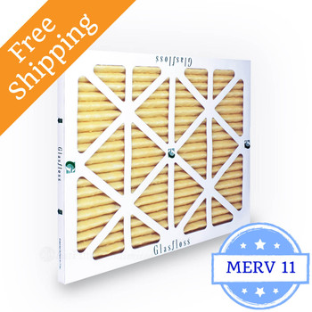 20x25x1 Air Filter MERV 11 Glasfloss Z-Line