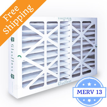 20x25x4 Air Filter MERV 13 Glasfloss Z-Line