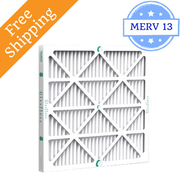 20x25x2 Air Filter MERV 13 Glasfloss Z-Line