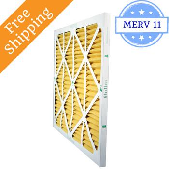 13x25x1 Air Filter ZL Series MERV 10 by Glasfloss