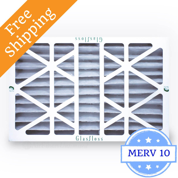 16x25x4 Air Filter ZL Series MERV 10 by Glasfloss