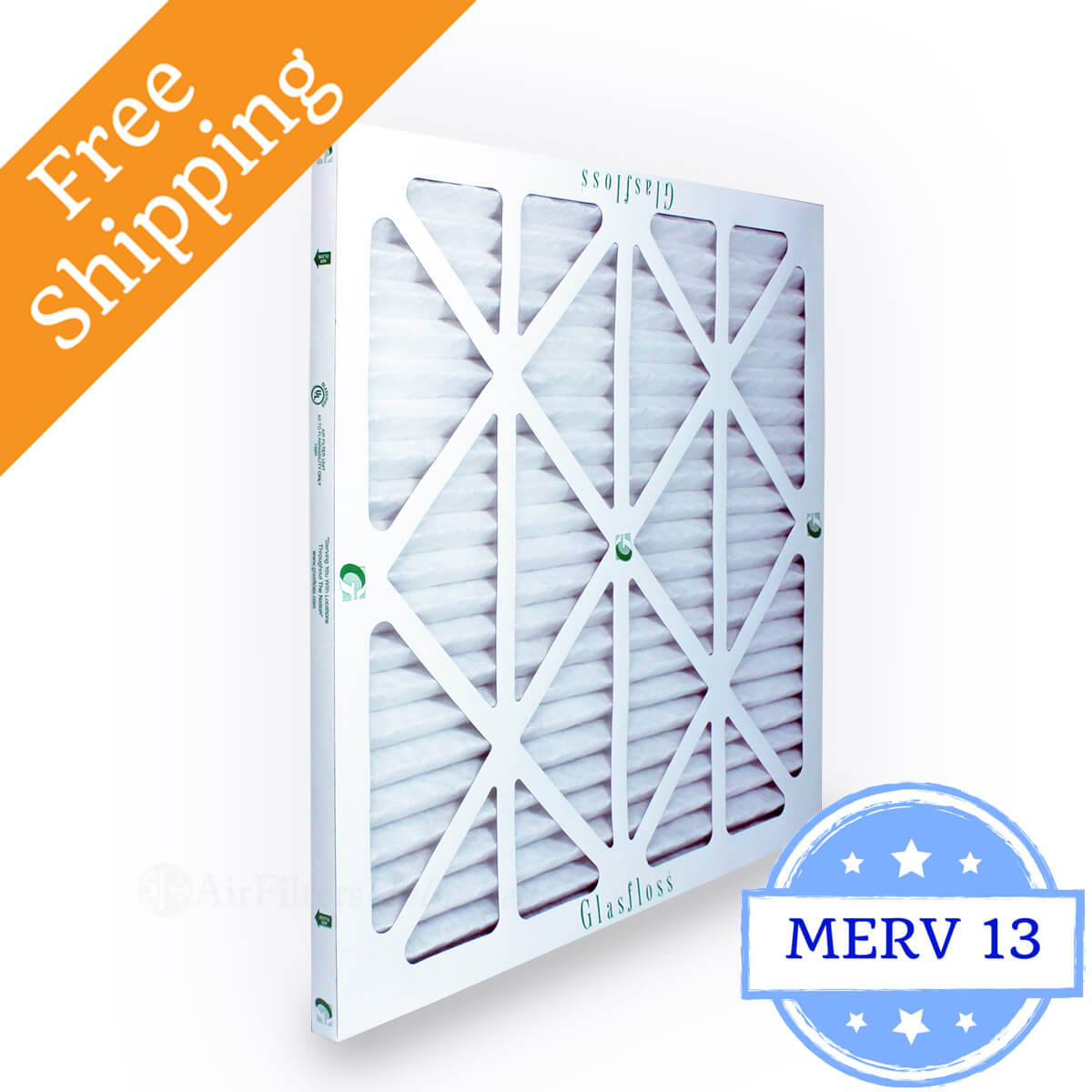 Glasfloss 25x25x1 Air Filter MR-13 Series