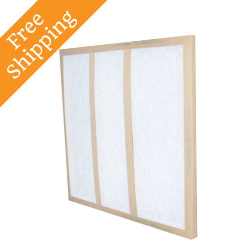 10x25x1 Air Filter Glasfloss Gds Series Disposable Box Of 12