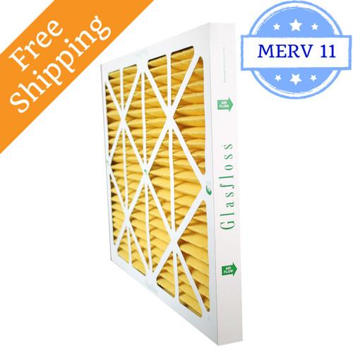 20x24x2 Air Filter Merv 11 Glasfloss Z Line Box Of 12