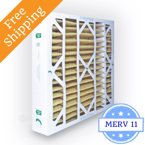 20x20x4 Air Filter Merv 11 Glasfloss Z Line Box Of 6