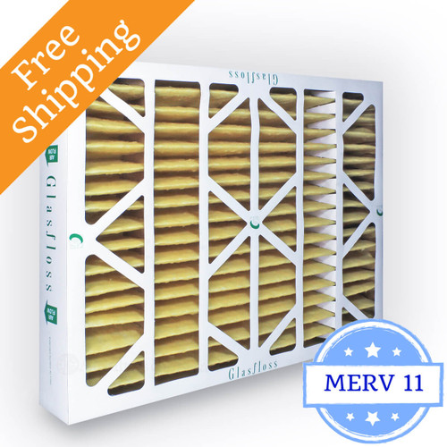 20x24x4 Air Filter Merv 11 Glasfloss Z Line Box Of 6