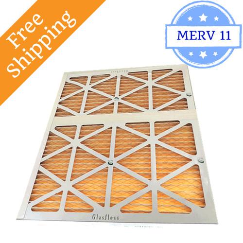 30x32x2 Air Filter Merv 11 For Geothermal Glasfloss Box