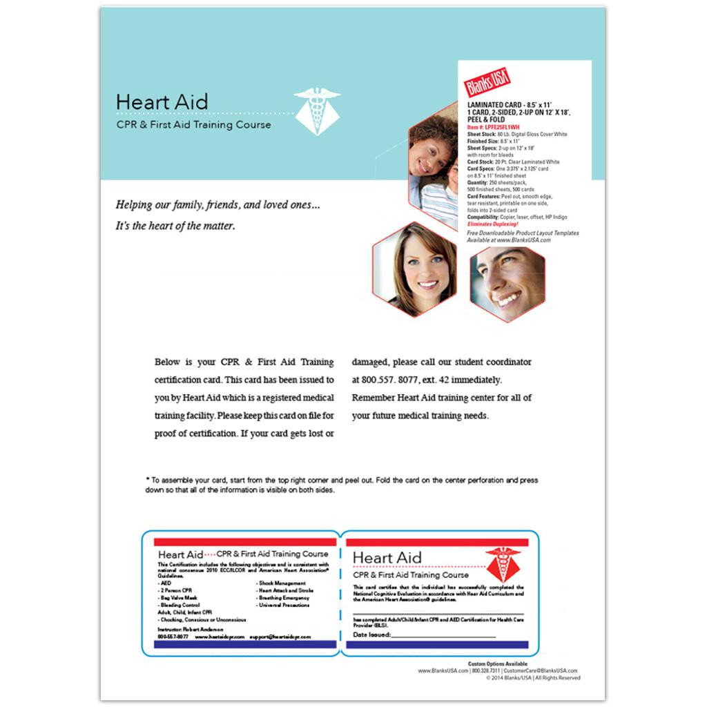 Digital Integrated Card Sample Pack Sampint Blanks Usa