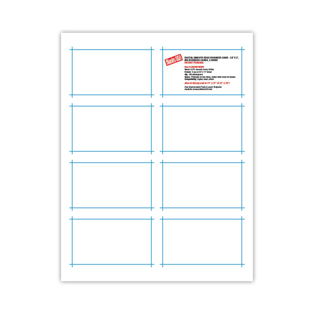 Digital Business Cards Sample Pack - SAMPBC - Blanks USA