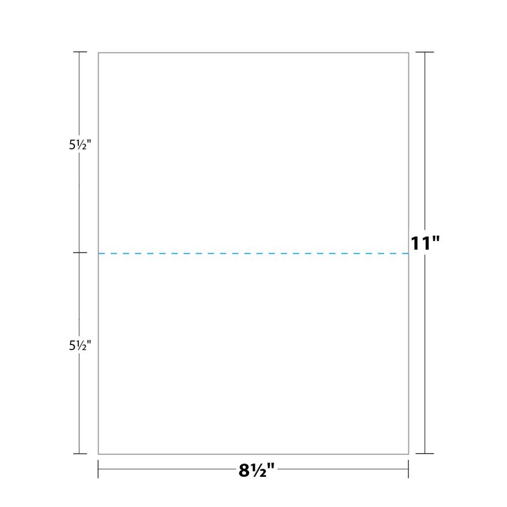 paper perforated in half - pfb50