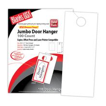 """Digital Door Hanger, 2-up on 8.5"""" x 11"""" sheet"""