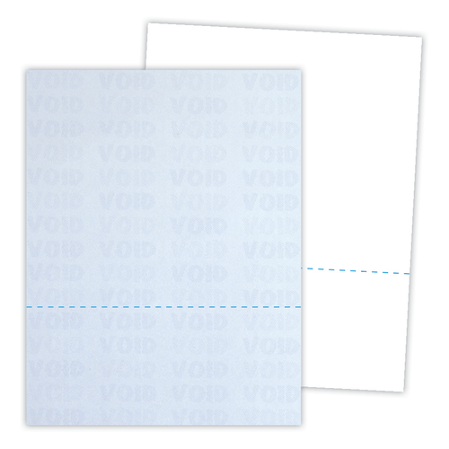Kan't Kopy® Security Paper Perforated at Bottom Third