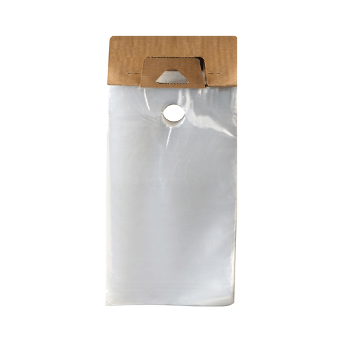 "Plastic Door Hanger Bag, 9"" x 15"""