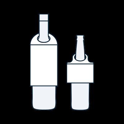 Lift Off Bottle Hangers Image