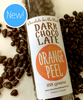Introducing the Dark Chocolate Orange Peel Tube Treat by Ü Chocolate for the World