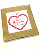 Angled package view of Love Supreme Heart by Ü Chocolate for the World