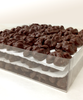 View of layers in Walnut Deluxe by Ü Chocolate for the World