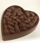 Valentine's Day Honey Roasted Pecans by Ü Chocolate for the World