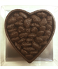 Top view of Valentine's Day Honey Roasted Pecans by Ü Chocolate for the World