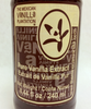 Front label detail of 240 ml Organic Vanilla Extract