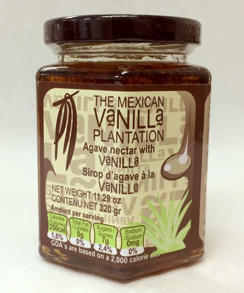 Introducing Agave Nectar with Vanilla