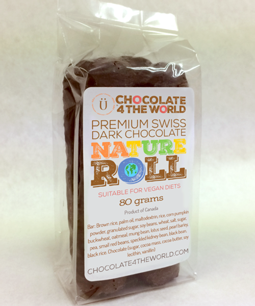 Introducing Nature Roll 4-Pack by Ü Chocolate for the World