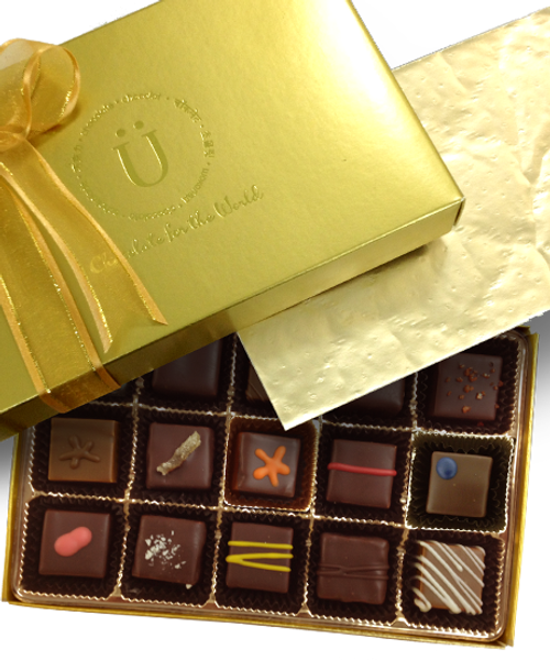Introducing the Classic Truffle Box by Ü Chocolate for the World