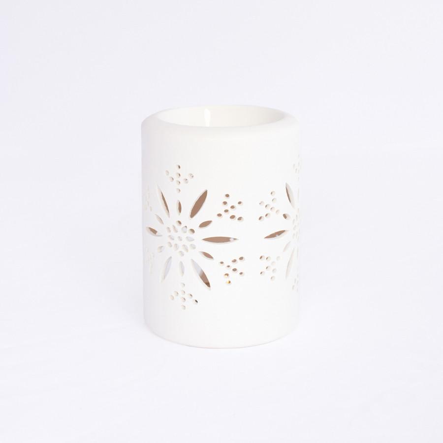 Ceramic oil burner (White)