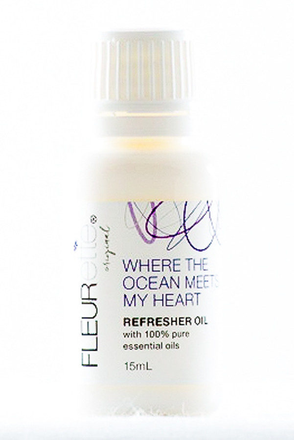 Where the ocean meets my heart Refresher Oil