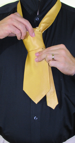 How to Tie a Four In Hand Necktie Knot | Step 6