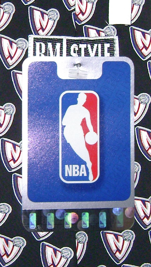 NEW JERSEY NETS SILK NeckTie LOGOS NBA Men's Neck Tie