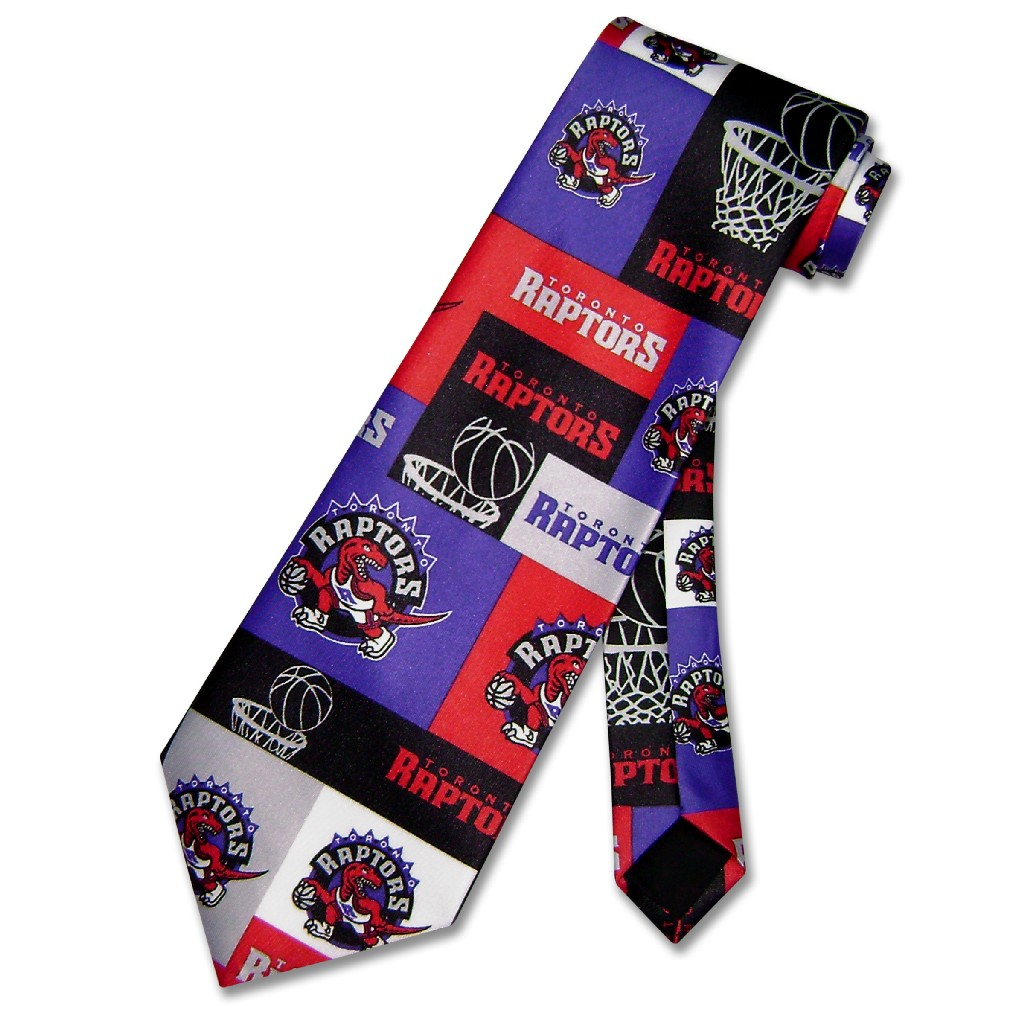 TORONTO RAPTORS NeckTie NBA BasketBall Men's Neck Tie NEW