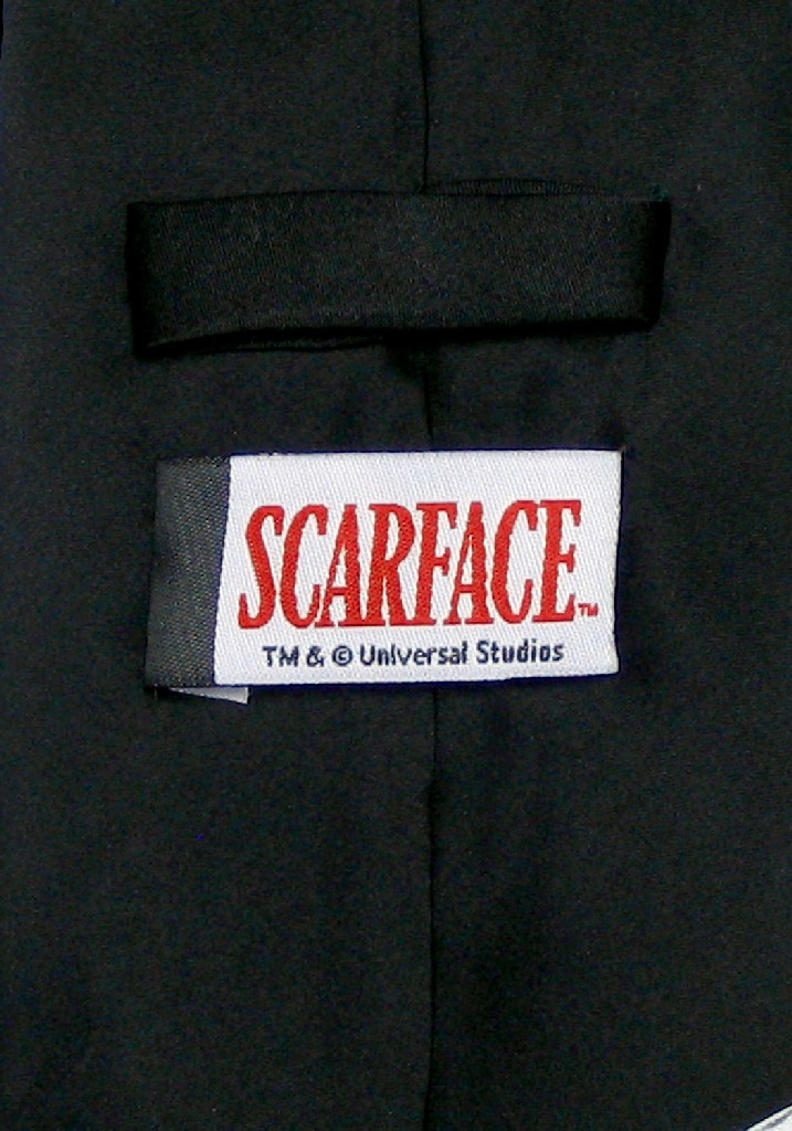 SCARFACE SILK NeckTie World Is Yours Al Pacino Men's Neck Tie