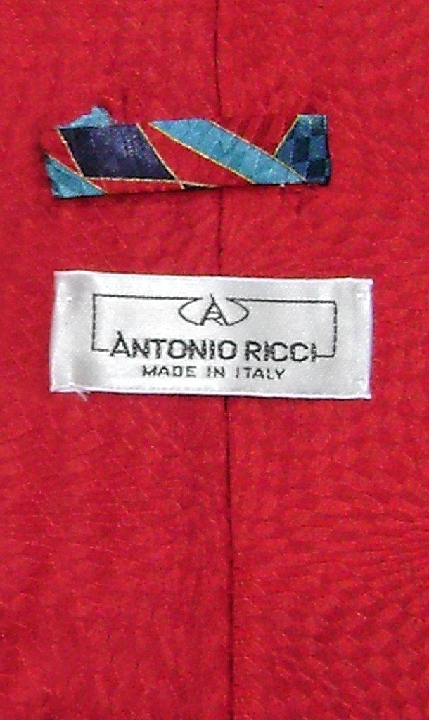 Antonio Ricci SILK NeckTie Made in ITALY Geometric Design Men's Neck Tie #5118-3