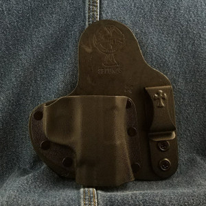 12879 CrossBreed Appendix Carry SMITH & WESSON SHIELD 45 Right Hand Black Cow