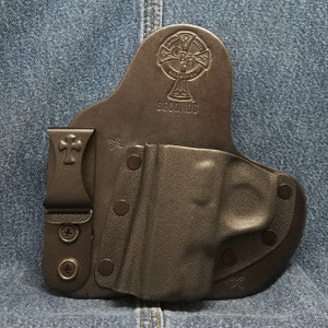 11626 CrossBreed Appendix Carry SMITH & WESSON SHIELD / Left Hand / Black Cow