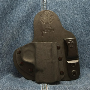 13121 CrossBreed Appendix Carry / SMITH & WESSON SHIELD 45 / Right Hand / Black Cow