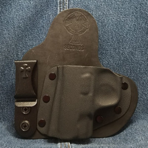 13123 CrossBreed Appendix Carry / SMITH & WESSON SHIELD 9/40 / Left Hand / Black Cow