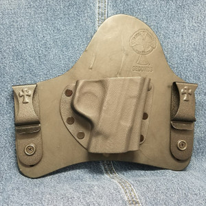 13316 CrossBreed SuperTuck SMITH & WESSON SHIELD 45 / Right Hand / Black Cow
