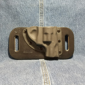 13826 CrossBreed SnapSlide RUGER LCR 38 / Right Hand / Black Cow