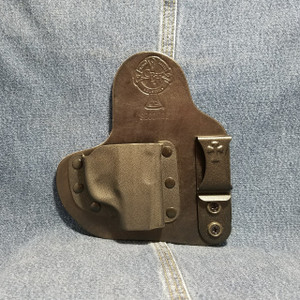 13834 CrossBreed Appendix Carry RUGER LCP / Right Hand / Black Cow